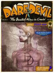 Daredevil (Fake Vintage Cover)